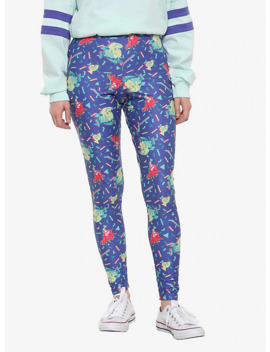 Her Universe Disney The Little Mermaid 80s Confetti Leggings by Hot Topic