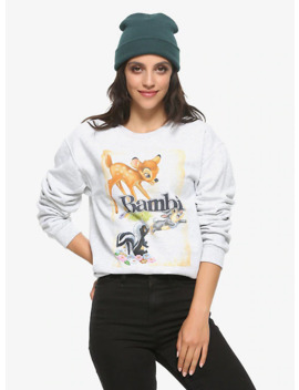 Disney Bambi Friends Girls Sweatshirt by Hot Topic
