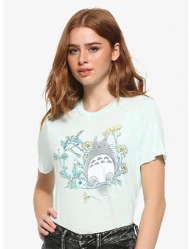 Studio Ghibli My Neighbor Totoro Mint Lettuce Hem Girls T Shirt by Hot Topic