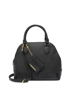 Brevy Satchel Bag by Steve Madden