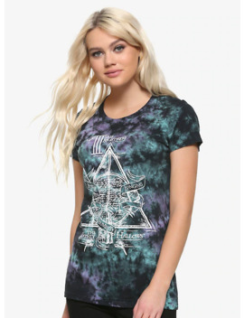 Harry Potter Deathly Hallows Girls Tie Dye T Shirt by Hot Topic