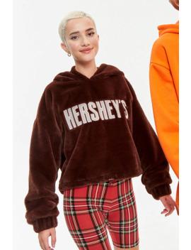 Hersheys Plush Hoodie by Forever 21