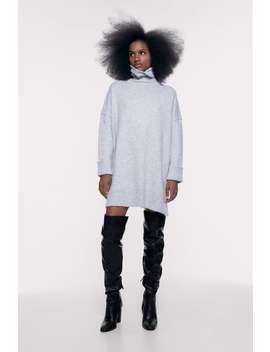 Vestido Oversize De Toque Suave by Zara