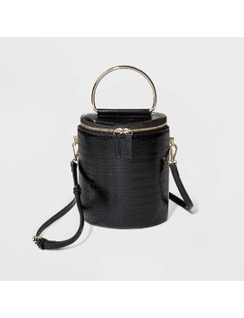 Top Handle Crossbody Bag   Who What Wear™ Black by Who What Wear