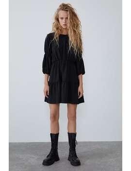 Vestito Con Elastici by Zara