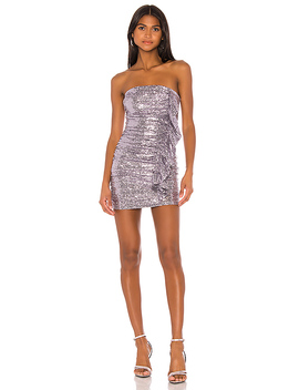 X Draya Michele Bowie Sequin Dress by Superdown