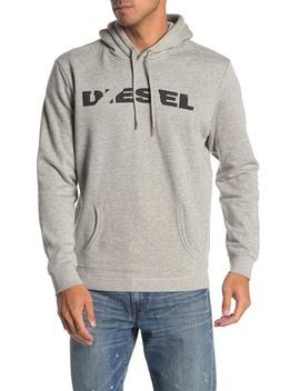 Logo Front Knit Hoodie by Diesel
