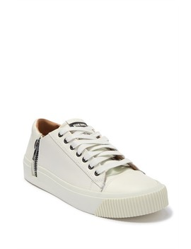 Voyage Zip Leather Sneaker by Diesel