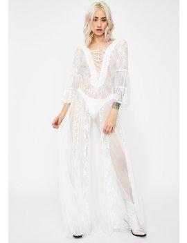 Torn N' Lovelorn Lace Dress by Kiki Riki