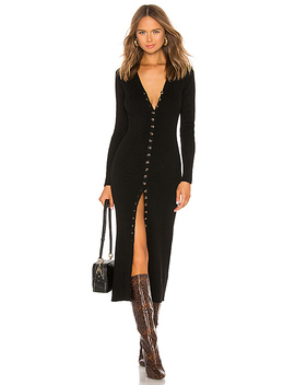 Kavala Sweater Dress In Black by Lpa