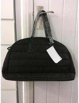 Fabletics Black Gym Travel Overnight Weekend Bag by Ebay Seller