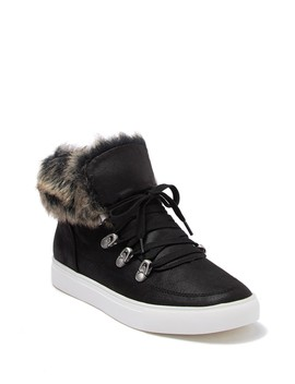 Adair Faux Fur Sneaker by Report