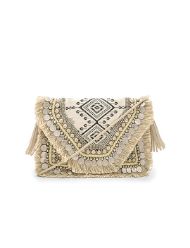 Alexa Clutch In Multi by Shashi