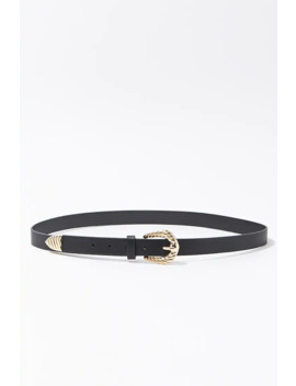 Scallop Buckle Hip Belt by Forever 21