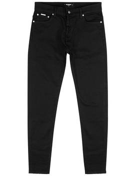 Essential Black Straight Leg Jeans by Represent