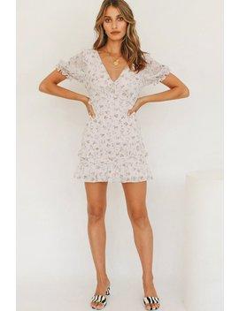 This Summer Frill Mini Dress // Musk by Vergegirl
