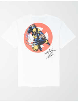 Tailgate Men's Wolverine Graphic T Shirt by American Eagle Outfitters
