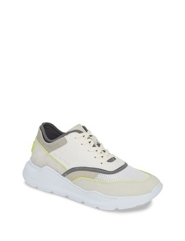Kirk Leather & Suede Sneaker by Donald Pliner