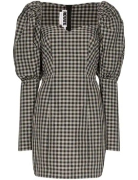 Gingham Mini Dress by Rotate