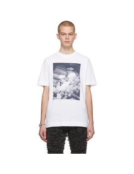 White Ex Nihilo Metal T Shirt by 1017 Alyx 9 Sm