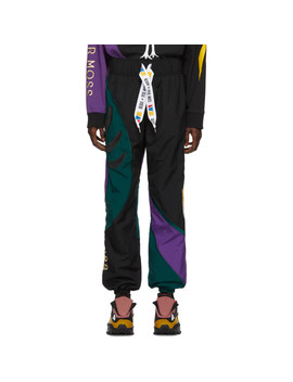 Black Collection 3 Sankofa Track Pants by Reebok By Pyer Moss