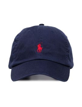 Logo Embroidered Baseball Cap by Polo Ralph Lauren