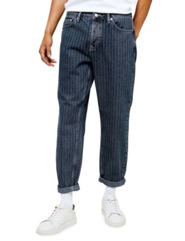 Original Fit Pinstriped Jeans by Topman