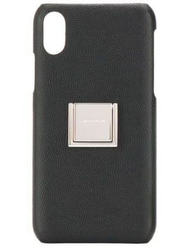 Cover Per I Phone X Con Logo by Saint Laurent