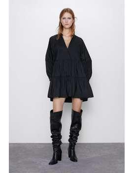 Vestito Mini TaffetÀ by Zara