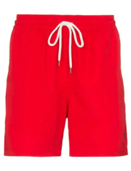 Traveller Drawstring Swim Shorts by Polo Ralph Lauren