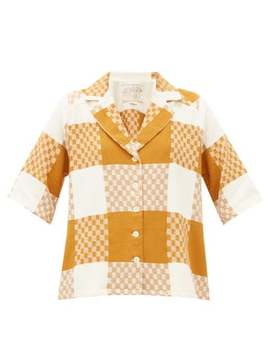 Etta Checked Cotton Shirt by Ace & Jig