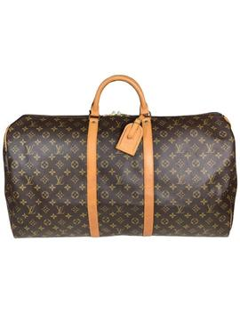 Keepall 60 Mono Weekend/Travel Bag by Louis Vuitton