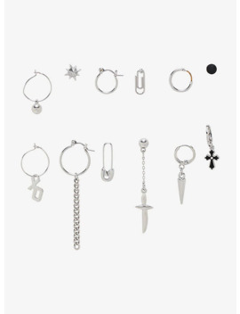 Mismatch Earring Set by Hot Topic