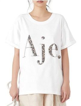 Paperbark Aje Logo Tee by Aje