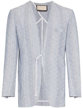 Eden Striped Cardi Blazer by PrÉvu