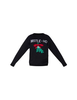 Black Mistle   Ho Christmas Sweater by Prettylittlething