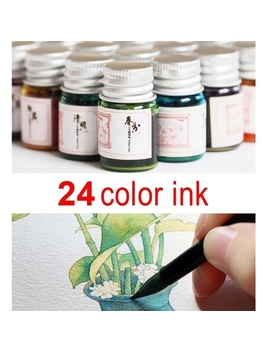Gold Powder Color Ink For Fountain Dip Pen Calligraphy Writing Painting Graffiti Good Life by Wish