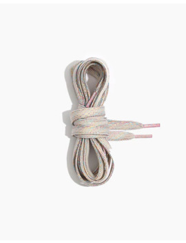 Metallic Sneaker Laces by Madewell