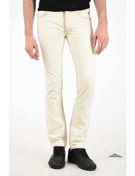 Drkshdw Cotton Detroit Cut Jeans 18 Cm by Rick Owens