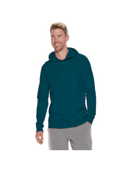 Men's Tek Gear® Ultra Soft Solid Fleece Hoodie by Tek Gear