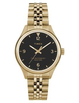 Waterbury Bracelet Watch, 34mm by Timex®