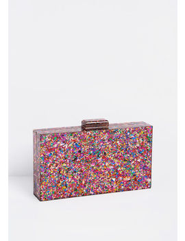 Sparkle A Convo Clutch by Modcloth