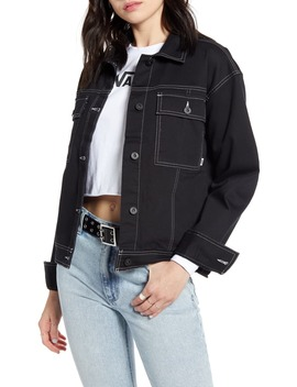 In The Know Canvas Jacket by Vans