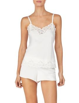 Lace Trim Short Pajamas by Lauren Ralph Lauren