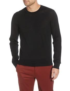 Luxe Merino Wool Blend Crewneck Sweater by Club Monaco
