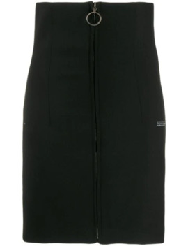 Zipped Fitted Skirt by Off White