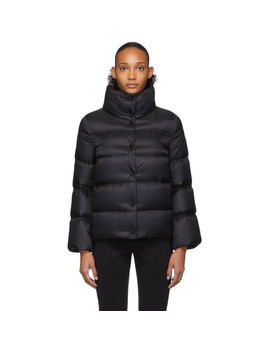 Black Down Aude Jacket by Moncler