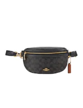 Coated Signature Fanny Pack   Saszetka Nerka by Coach