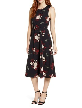 Francis Tie Back Midi Dress by Bobeau