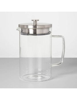67oz Glass Pitcher With Stainless Steel Lid   Made By Design™ by Made By Design